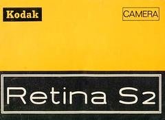Kodak Retina S2 - Instuctions for use - Page1 (TempusVolat) Tags: kodak retina s2 instructions for use film 35mm guide vintage tempusvolat gareth tempus volat mrmorodo garethwonfor mr morodo epson perfection v200 scan scanner scanning scanned