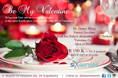 Be My Valentine #spanishresto #romanticdinner #candlelight #mediterraneanfood #mediterraneanfesto #spanishrestaurantjogja #visitjogja #tourism #halal #jomblo (Six Senses Spanish Restaurant) Tags: tourism candlelight mediterraneanfood halal romanticdinner jomblo spanishresto visitjogja sixsenseskitchen mediterraneanfesto spanishrestaurantjogja