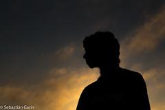 Silueta (sgarinortiz) Tags: chile sunset portrait warm ideas sillhouette