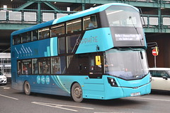 Arriva Midlands 4600 FJ64ETZ (Will Swain) Tags: derby 14th february 2015 bus buses transport travel england uk britain midland midlands arriva 4600 fj64etz vehicle vehicles county country english