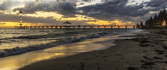 Ahead of the storm (ChrisKirbyCapturePhotography) Tags: sunset clouds reflections jetty adelaide southaustralia brightonjetty chriskirbycapturephotography