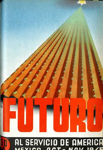 Portada de Josep Renau Berenguer para la Revista Futuro (octubre-noviembre de 1945)