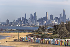 Melbourne Skyline (Federico Prevedello Photography) Tags: travel colour water skyline landscape cityscape ngc australia melbourne top20flickrskylines
