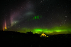 Camping Under the Northern Light in Palouse? (stokes rx) Tags: washington northwest waterfalls northernlights palouse