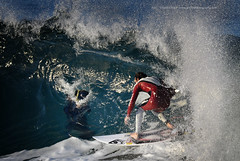surf mode # click of a click (Jose Antonio Pascoalinho) Tags: ocean sea people sport speed surf photographer action outdoor surfer wave surfing foam curl splash capture zedith
