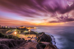 Sunrise Shepard's Hill  Sunrise HDR (Serene Escape Photography) Tags: ocean longexposure water canon newcastle landscape photography rocks hunter hdr steelcity tokina1116mm canon70d