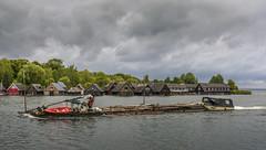 A Strange Vessel (dietmar-schwanitz) Tags: lake water germany deutschland boot see boat wasser lightroom mecklenburgvorpommern mritz rbel dietmarschwanitz nikond750 nikonafsnikkor24120mmf40ged