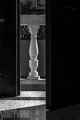 Balustrade (Sue_Hutton) Tags: rural spring morocco maroc tangier tanger balustrade opendoor rimlight alphabetchallenge2016