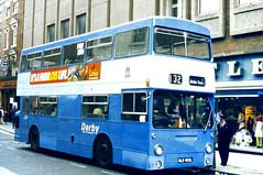 Slide 061-60 (Steve Guess) Tags: uk england bus london transport corporation gb derby lt daimler fleetline dms