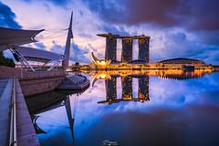 """"""" Marina Bay """" (Mukeng) Tags: cityscape"""