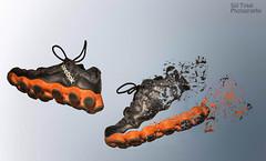 Reebok atv 19 (siddhartha tyagi) Tags: india photoshop nikon shoes atv 19 splatter reebok d7000