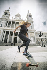 FEMKE in MADRID (Noe Otegui) Tags: madrid netherlands girl chica dancing iglesia skate longboard holanda longboarding lgc laalmudena longboardgirlscrew longboardlife noeliaoteguifotografia femkebosma