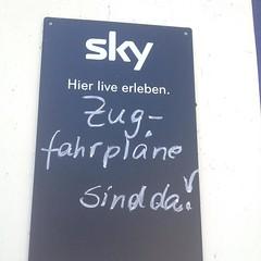 +++ Jetzt neu bei Sky: Veronica Ferres und Mehmet Scholl lesen exklusiv die neusten Zugfahrplne! +++ (oomenberlin) Tags: sky lesen und die veronica mehmet neu bei scholl jetzt exklusiv ferres neusten oomenberlin zugfahrplne