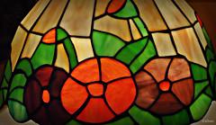 Tiffany's (Franco DAlbao) Tags: light color colour luz glass lamp lumix vidrio tulipa artnoveau tiffanys lmpara leaden emplomado dalbao francodalbao