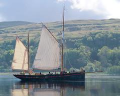 Brixam Trawler Leader, Loch Aline (Graham Cameron Himself) Tags: sea sunshine scotland boat unitedkingdom peaceful woodenboat lochaline sailingyacht scottishloch brixamtrawler