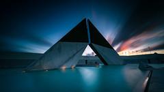 Stargate (marcolemos71) Tags: longexposure monument water memorial nightshot lisboa homenagem belm ultramar lowpov combatentes