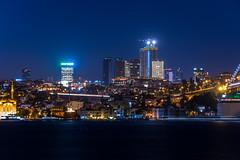 IMGP2678-2 (UmitCukurel) Tags: nightphotography sea night cat turkey puente mar pentax turkiye istanbul gato turquia bogazici bosphorus kedi kizkulesi maidentower k3ii