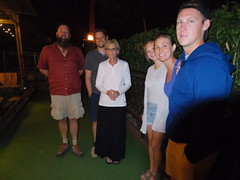 Standing on Bocce court (EllenJo) Tags: family arizona guests dinner pentax cousins cottonwood familyvisit bocce verdevalley 2016 may20 dahlbergs cottonwoodaz outoftowners illinoispeople familyvisiting 86326 ellenjo oldtowncottonwood ellenjoroberts illinoisresidents pizzeriabocce pentaxqs1 illinoisfolks