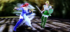battle_Alis vs Wendy G in SoulcaliburV (Cliffather) Tags: wendy alis namco elves soulcalibur fightinggame elfears virtualgirl ps3game