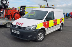 WX61GNJ (Emergency_Vehicles) Tags: show rescue vw fire aids service van emergency wiltshire visual 2015 438 wx61gnj