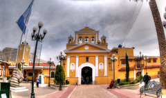 Iglesia de San Luis / St. Louis Church (drlopezfranco) Tags: church guatemala stlouis iglesia sanluis hdr quetzaltenango hrd salcaj
