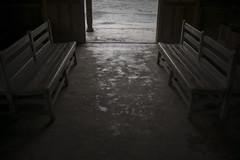 rainy day (RenField - Toel-ul Laputa) Tags: rain station japan 35mm bench nikon sigma kagoshima rainy 日本 jpn kyusyu 駅 九州 鹿児島 kirishima 雨 梅雨 ニコン 単焦点 霧島市 シグマ 肥薩線 嘉例川駅 d800e