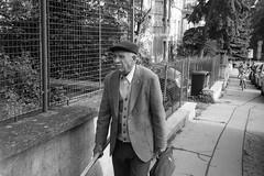 Olympus Mju II - Old Man (Kojotisko) Tags: bw streetphotography brno creativecommons czechrepublic streetphoto rodinal fomapan100 mju2 olympusmjuii