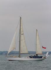 Sailing Holiday June 2016 (146 of 156) (johnlinford) Tags: sea sailing yacht sails isleofwight solent roundtheworld gypsymothiv singlehander