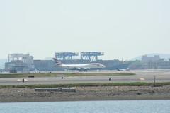 IMG_2494 (wmcgauran) Tags: boston airplane airport aircraft aviation boeing bos britishairways 747 eastboston kbos gbygd