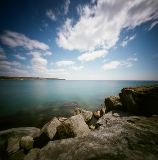 Looking east - World Pinhole day 24 April 2016