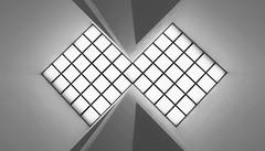 abstrakt (tan.ja1212) Tags: blackandwhite decke architektur abstrakt quadrat oberlicht schwarzweis