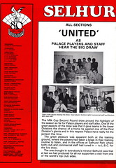 Crystal Palace vs Manchester United - 1986 - Page 4 (The Sky Strikers) Tags: road park cup magazine manchester milk official crystal united palace to british eagles telecom hummel wembley 50p matchday selhurst