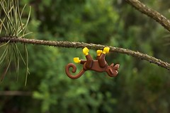 Into The Wild (thereeljames) Tags: seattle writing monkey lego legos blogging minifig minifigure legopics legophotography stuckinplastic seattletoyphotosafari