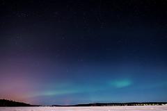 Primera aurora (fernando garca redondo) Tags: rovaniemi finlandia