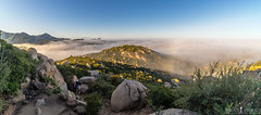Morning Light (ihikesandiego) Tags: sunrise san mt foggy diego woodson