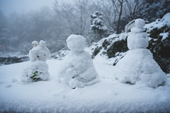 TaipeiSnow day (Iyhon Chiu) Tags: road winter snow cold snowman snowy taiwan taipei       xindian  2016 sindian     newtaipeicity