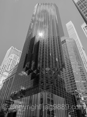 Trump Tower at 725 Fifth Avenue, Midtown Manhattan, New York City (jag9889) Tags: 2016 20160622 432park 432parkavenue 5thavenue 725fifthavenue apartments architect architecture bw blackandwhite building condo condominium condominiums fifthavenue house luxury manhattan midtown monochrome ny nyc newyork newyorkcity outdoor penciltower rafaelvioly residential retail retailspace skyscraper superskyscraper tower trumptower usa unitedstates unitedstatesofamerica jag9889