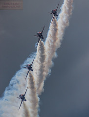 Smokin' (the tamron tog) Tags: color canon colours display hawk smoke fast airshow rows tamron torbay dullsky 150600mm