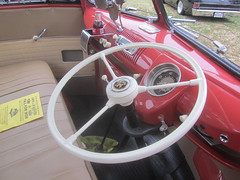 VW 23 Window Bus RHD - 1956 (MR38.) Tags: bus window vw steering 23 1956 dashboard rhd