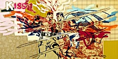The Kiss (2006) - Francisco Vidal (1978) (pedrosimoes7) Tags: portugal museum museu lisbon muse cc creativecommons painter algs thekiss angola camb franciscovidal bettywood artgalleryandmuseums ecoledesbeauxarts centrodeartemodernamanueldebrito parqueanjos pintorangolanoeportugus angolaportuguesepainter