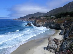 Dramatic Big Sur (moonjazz) Tags: ocean california travel blue wild beach wow landscape photography 1 highway surf pacific hiking bigsur dramatic roadtrip romantic environment deserted pristine viewpoing