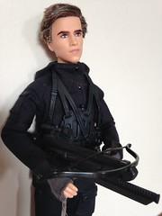 Mockingjay Gale Armed (vampirefrannaz) Tags: doll dolls barbie gale mattel barbiedoll barbiecollector hungergames mockingjay