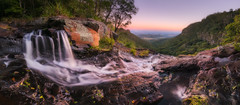 Moran's Dawn (Dylan Toh) Tags: goldcoast queensland toolongacreek australia australian boxforest boxlogfalls elabanafalls everlook hinterland lamingtonnationalpark landscape moransfalls photographer photography waterfall