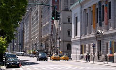 Central Park West (Photographs By Wade) Tags: road street newyorkcity newyork cars traffic roadway centralparkwest bycentralpark