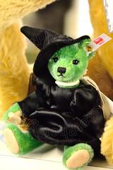 Wicked Steiff Bear. (CAscotPhotography) Tags: cascotphotography closeup cute bear steiff wicked costume fun cornwall nikon d7100