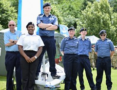 Sea Cadets with Dinghy