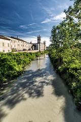 La Reggia e la Parma (antoniopedroni photo) Tags: italy ponte parma farnese reggia colorno reggiadicolorno neoclassico borbone marialuigia torrenteparma