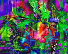 Summer Garden (abstractartangel77) Tags: flowers summer abstract photomanipulation garden