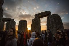 Summer Solstice at Stone Henge (James-306) Tags: summer sun festival stone set prayer pray solstice rise pagan neolithic henge 2016