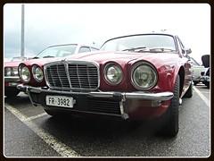 Jaguar XJ 3.4 (v8dub) Tags: auto old 3 classic car schweiz switzerland automobile suisse 4 automotive voiture oldtimer british jaguar oldcar collector xj youngtimer wagen pkw klassik worldcars